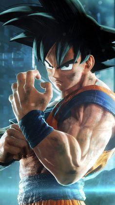Goku Jump Force HD Mobile Wallpaper is the best Wallpaper Do Goku, Mobile Wallpaper, Dragonball Wallpaper, Lion Wallpaper, Foto Do Goku, Goku Super, O Pokemon, Dragon Ball Gt, Son Goku