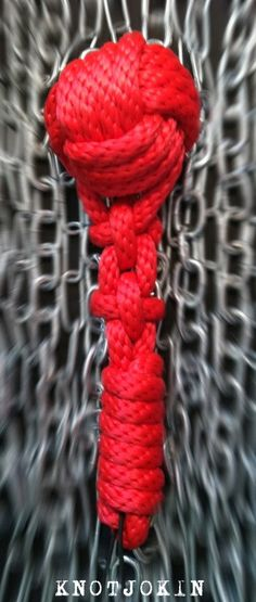 Rope Mace Flogger by Knotjokin on Etsy, $30.00