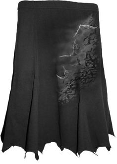 Spiral - Bat Swarm - Bat Edge Skirt... holy chicness, Batman!  Mama neeeeds!