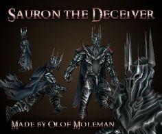 Sauron by olofmoleman
