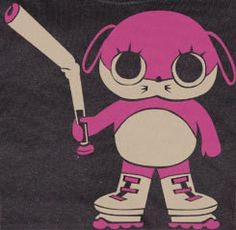 Paranoia Agent Cute Maromi as Shonen Bat T-shirt tee Tshirt Ghibli, Red Robin Seasoning, Tokyo Godfathers, J Games, Satoshi Kon, Japanese Video Games, Anime Watch, Japanese Film, Manga Artist