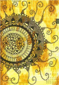 Sun Tapestry, Sun, Decor, Hanging Tapestry, Tapestries, Decoration, Dekoration, Inredning, Interior Decorating