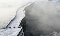 Doğu Anadolu'dan kartpostallık kar manzaraları