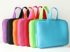 """Cheap Del Color del caramelo 14 """" neoprene Laptop Sleeve Case bolsa bolsa para 9.7 '' 10 '' 13 '' 13.3 '' 14 '' 14.1 '' tablet PC manga caso, Compro Calidad Bolsas y Fundas para Portátil directamente de los surtidores de China:        Del color del caramelo 14 """"neoprene Laptop Sleeve Case Bag Pouch para 9.7'' 10 ''13'&#39"""