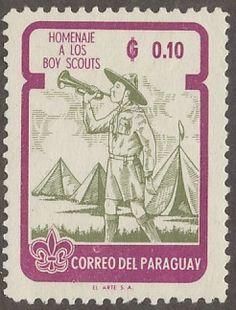 Paraguay - D'n'D Stamps