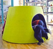 A bunch of cool playhouse, play space ideas by architect types