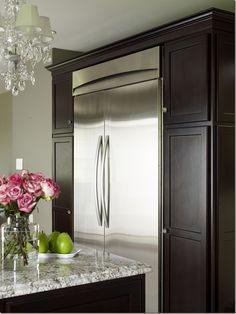 Kitchen cabinetry colour.