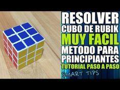 Resolver Cubo De Rubik 3x3 Principiantes Hd Tutorial Español Youtube Rubiks Cube Cube Rubics Cubes