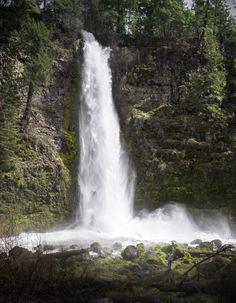 Mill Creek Falls Oregon [1322x1700][OC]