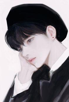 Cute Anime Boy, Anime Art Girl, Manga Art, Digital Art Anime, Digital Art Girl, Pretty Art, Cute Art, Character Sketches, Character Art