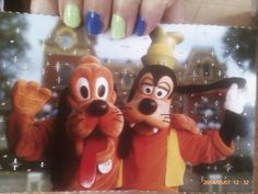 My postcard from Disneyland from Sharon. As you move it the stars twinkle.