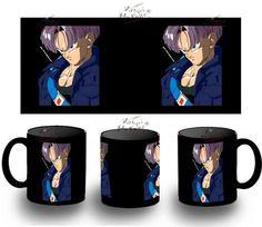 Taza Negra Dragon Ball Trunks Del Futuro Bola Black Mug Tazza Tasse Coupe Mug - Bekiro
