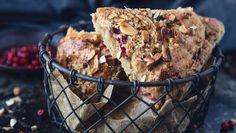 Lise Finckenhagens grovbakst: Grov i målet - Godt.no Scones, Muffins, Bakery, Snacks, Meat, Breakfast, Morning Coffee, Muffin, Appetizers