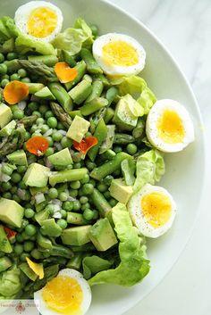 Spring Salad by Heather Christo   صوماً متقبلاً وأفطاراً شهياً بأذن الله ، تقبل الله منا ومنكم صالح الأعمال
