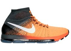 huge discount 4c65a f19f5 NEW Nike Zoom All Out Flyknit Running Shoes 9.5 Orange Anthracite 844134-800   Nike