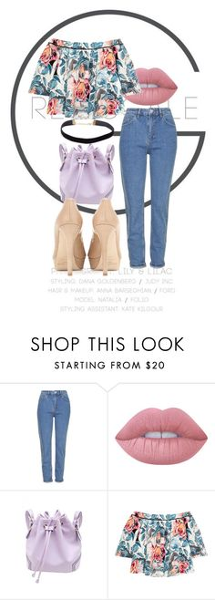 """Grey Scale."" by orianahalabi09 ❤ liked on Polyvore featuring Topshop, Lime Crime, Elizabeth and James and Jimmy Choo"