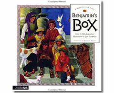 Benjamin's Box by Melody Carlson, Jack Stockman (Illustrator). Easter books for kids.