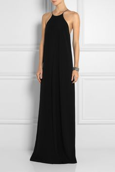 Calvin Klein Collection | Jarvis crepe maxi dress | NET-A-PORTER.COM