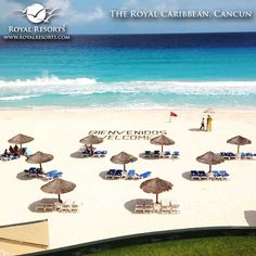 The Mexican Caribbean welcomes you home warmly... :) (Photo by Susana) | Experience a warm welcome to your home in paradise at The Royal Caribbean, Cancun