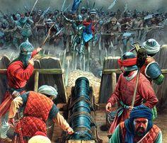 Peter Dennis - Cristianos contra Turcos Otomanos, siglo XV.