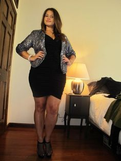 plus size date night outfit   good plus size outfit for a night out by Kimberly Lefevre