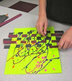 Jackson Pollock Weaving Revisited