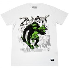 Zoo York Kingorilla tee-shirt white king kong nyc 30,00 € #zooyork #zy #nyc #tee…