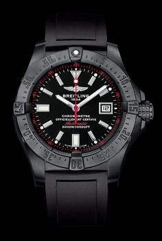 Stealth Pilots: 5 All-Black Breitling Watches
