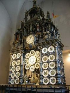 The Astronomical Clock of Besançon, France   Atlas Obscura