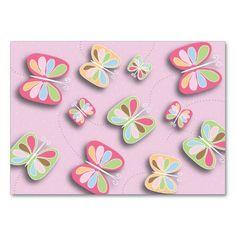 Pretty Butterflies Flutter By Babysitting Business Card