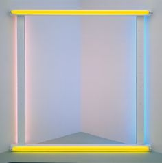 untitled (to donna) by dan flavin