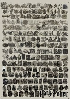 Every Chapter Illustration From Entire Harry Potter Series