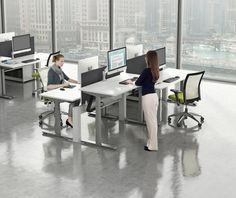 Improve Your Company's Bottom Line With Ergonomic Workspaces from AMQ