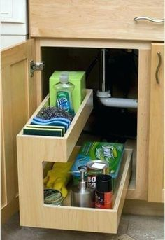 Image result for organizing trays kitchen