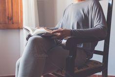 Reading from the armchair by Seronda Estudio on Creative Market