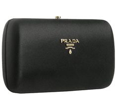 Prada clutch black