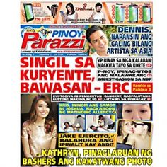 Pinoy Parazzi Vol 8 Issue 7 December 17 – 18, 2014 http://www.pinoyparazzi.com/pinoy-parazzi-vol-8-issue-7-december-17-18-2014/