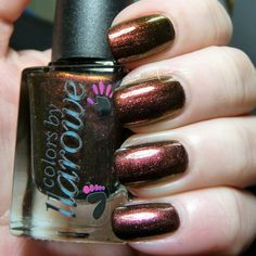 Colors by Llarowe Burning Embers (swatched ) $8
