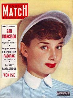 Audrey Hepburn - Paris Match Magazine [France] (15 September 1951)