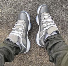 "huge selection of 668e9 7f106 Air Jordan 11 Low ""Cool Grey"""