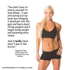 you don't have to starve yourself