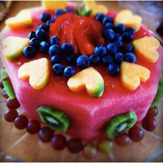 Who needs the edible fruit bouquets that cost a fortune? Very do-able.