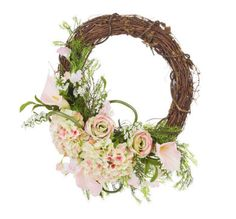 Floral Grapevine Wreath