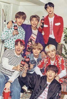 BTS x Coca Cola #BTSxCocaCola #RM #JIN #SUGA #JHOPE #JIMIN #V #JUNGKOOK