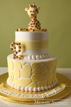 Baby Giraffe #42Animals by Michael Angelo's Bakery | Michael Angelo's Bakery