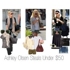 """Ashley Olsen Under $50"" by Big Curls and Pearls blog"