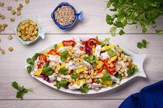 Tajskie wpływy Cobb Salad, Food, Essen, Meals, Yemek, Eten