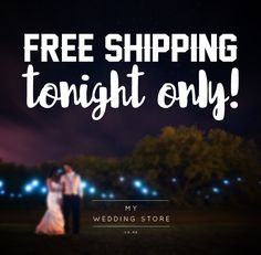 Bargain - Free Shipping - Tonight Only @ My Wedding Store