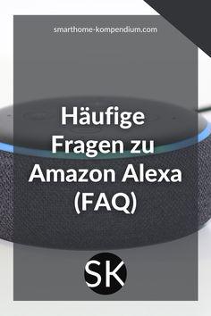 Der Amazon Echo ist ein wahres Wunderwerk der Technik. Täglich beantwortet er unzählige Fragen und hilft dabei, das eigene Smart Home zu steuern. Hier findest du nun endlich eine Übersicht zu den wohl häufigsten Fragen zu Amazon Alexa. Und natürlich die passende Antwort! Du kannst außerdem weitere Fragen ergänzen und sie dir von der Community beantworten lassen. Worauf wartest du noch? Amazon Echo, Netflix, Smart Home, Social Networks, Smart House
