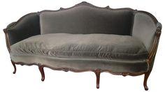 Vintage French Style Louis XV Sofa on Chairish.com. $2,479